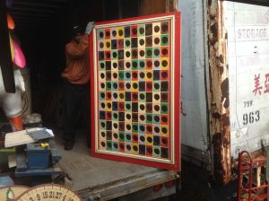 carnival board holes rectagle