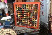 carnival board holes square
