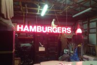neon hamburger 5