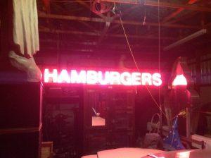 neon hamburger 6