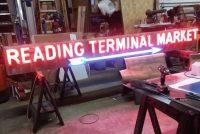 neon reading terminal