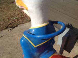 donald duck kiddie ride 4