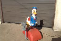 donald duck kiddie ride 5