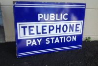 telephone sign double