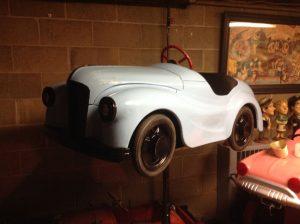 carnival car light blue wv