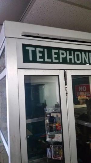 phone booth alumium green 3