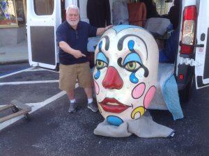 clown parade head 1