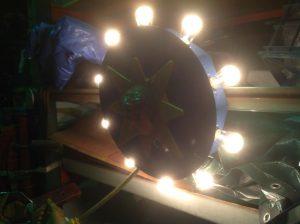 carousel center head light 10