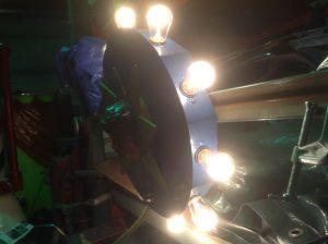 carousel center head light 6