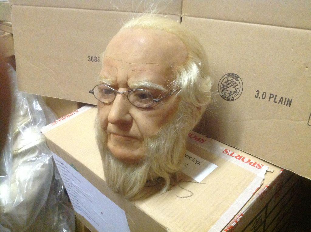 wax museum rip beard & Glasse 1