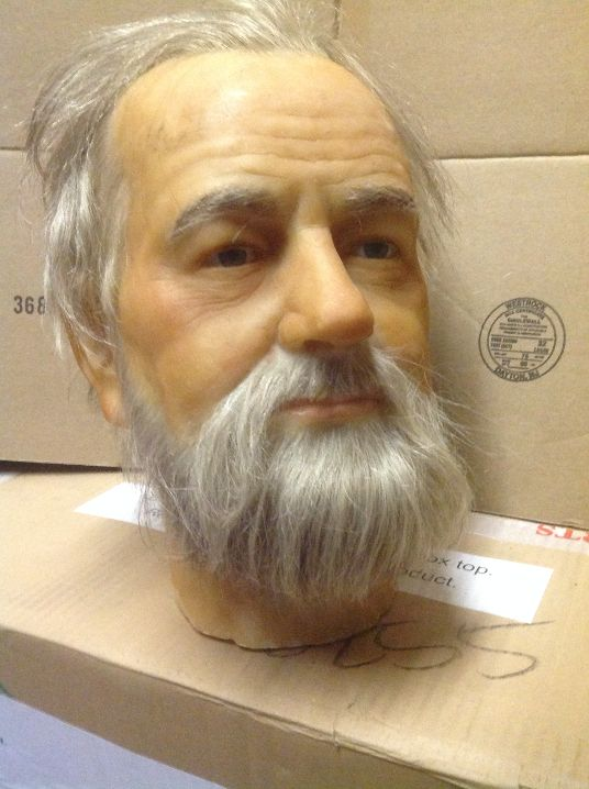 wax museum rip beard & mustache