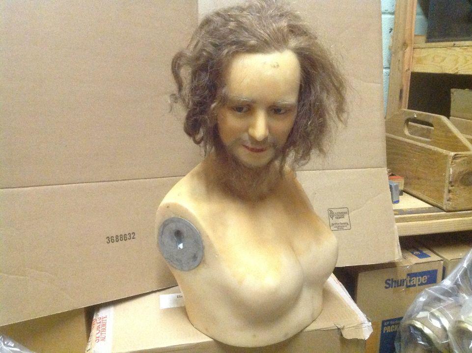 wax museum rip bearded lady