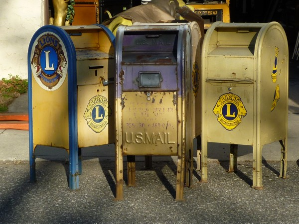 1950's Style U S  Post Office Corner Mail Box « Obnoxious Antiques
