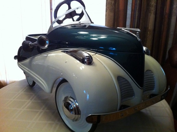 1939 Lincoln Pedal Car By Steelcraft 171 Obnoxious Antiques