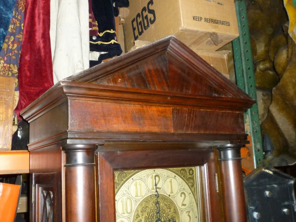 Early 1900's Grandfather Clock With Urgos Movement « Obnoxious Antiques