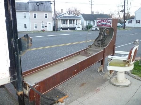 Penny Arcade Amusement Park Barrel Roll Skee Ball