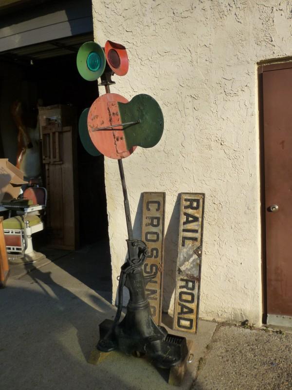 Antique Railroad Switch Signal « Obnoxious Antiques