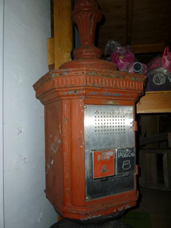 Early 1900 S New York City Corner Fire Box 171 Obnoxious