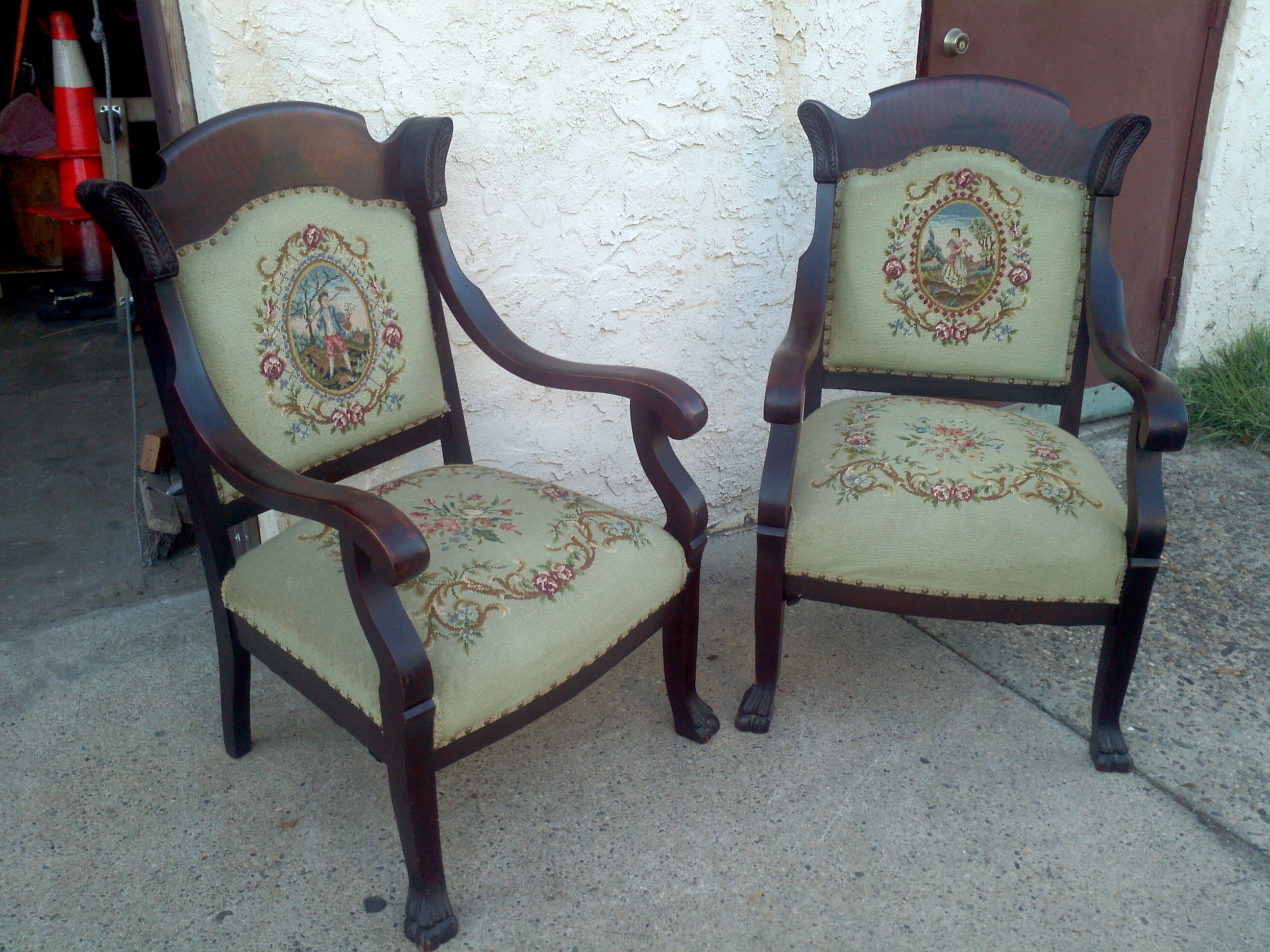 Pair Of Antique Parlor Chairs
