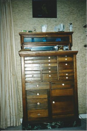 Antique Dental Cabinet 171 Obnoxious Antiques