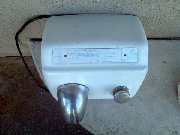 Vintage Porcelain Hand Dryer 171 Obnoxious Antiques