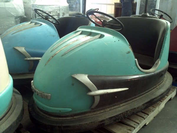 1959 Amusement Park Dodgem Bumper Cars 171 Obnoxious Antiques