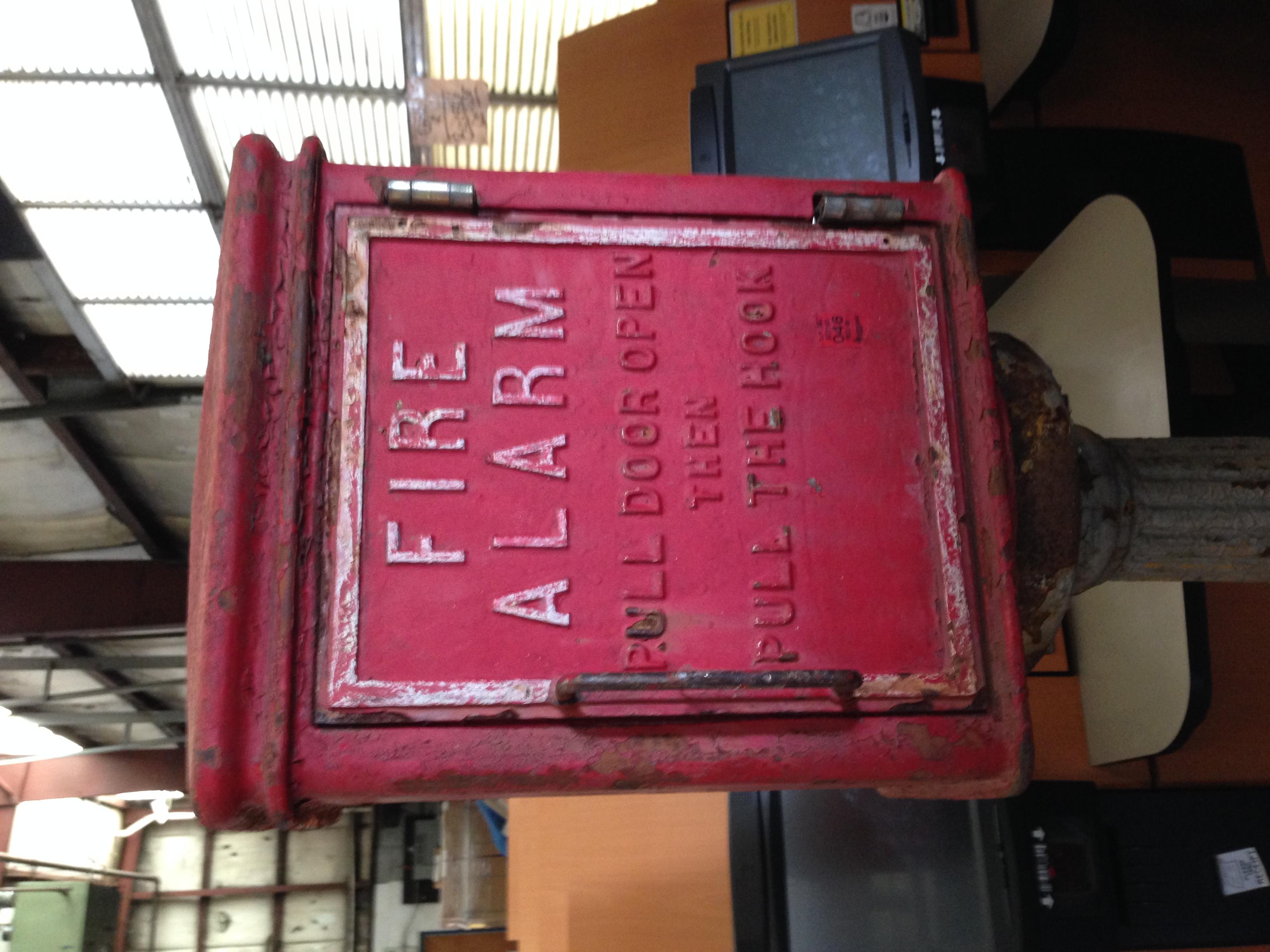 Antique St Louis Corner Fire Call Box 171 Obnoxious Antiques