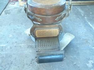 wood barber chair 5