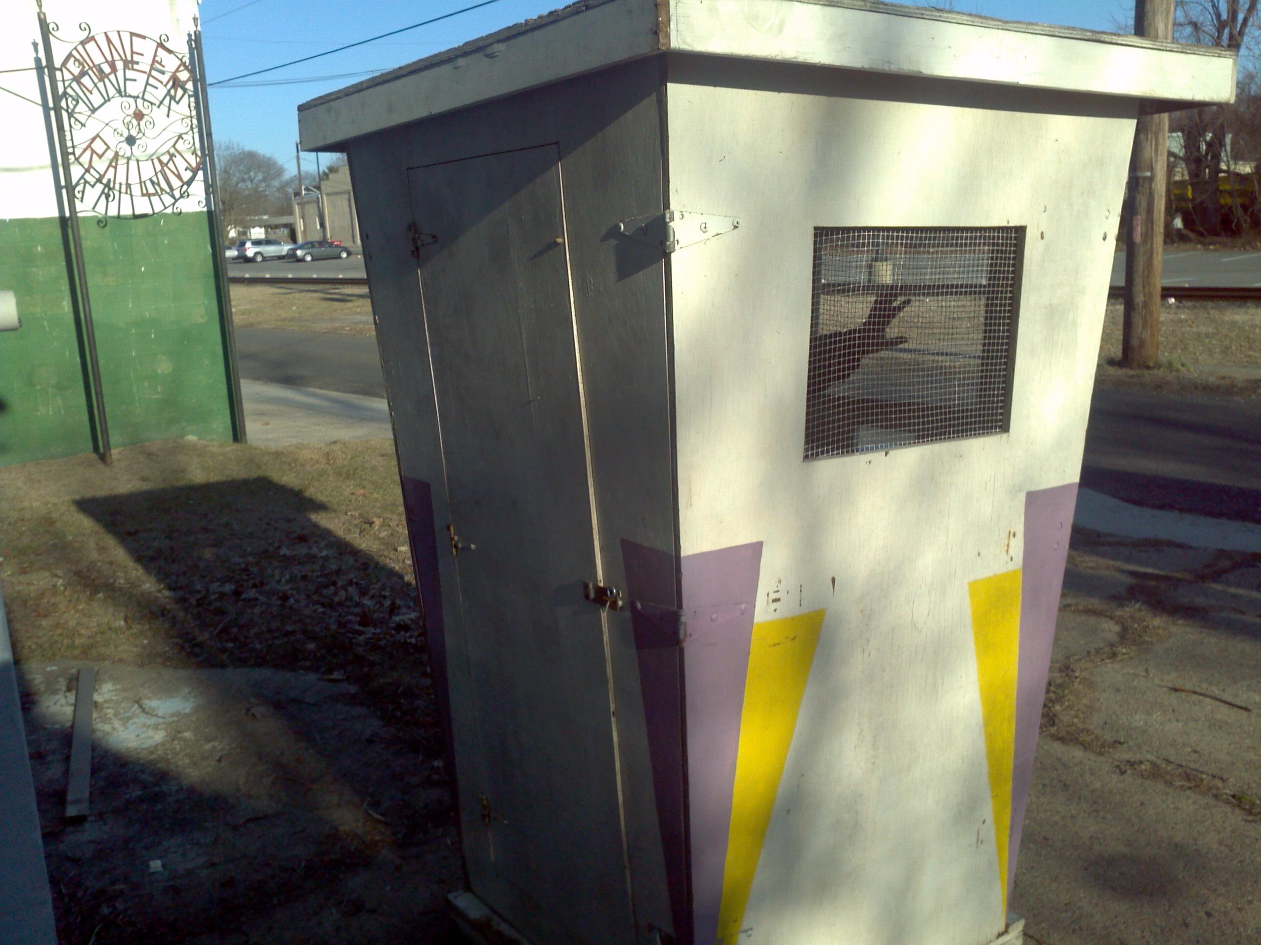 Paint Booth Rental >> Vintage Amusement Park Ticket Booth « Obnoxious Antiques