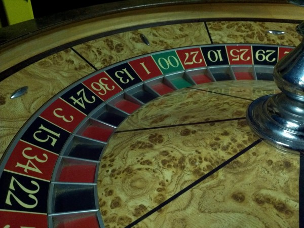 Picture of american roulette table