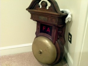 fire alarm bell Victor talking machine building 7
