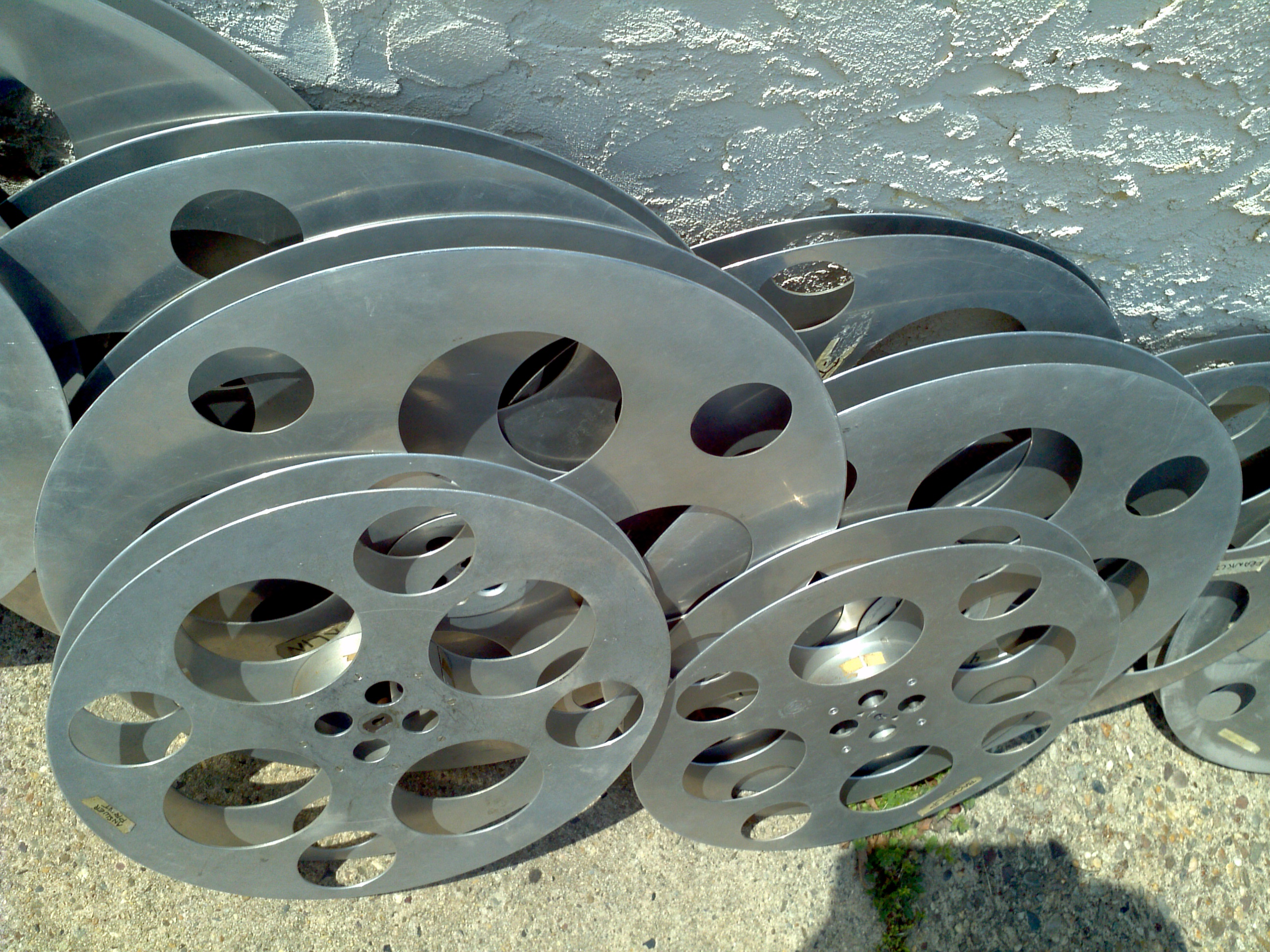 Group of Early Movie Theater Reels « Obnoxious Antiques