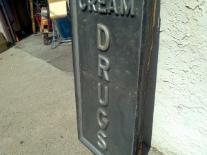 ice cream drug store sign 2