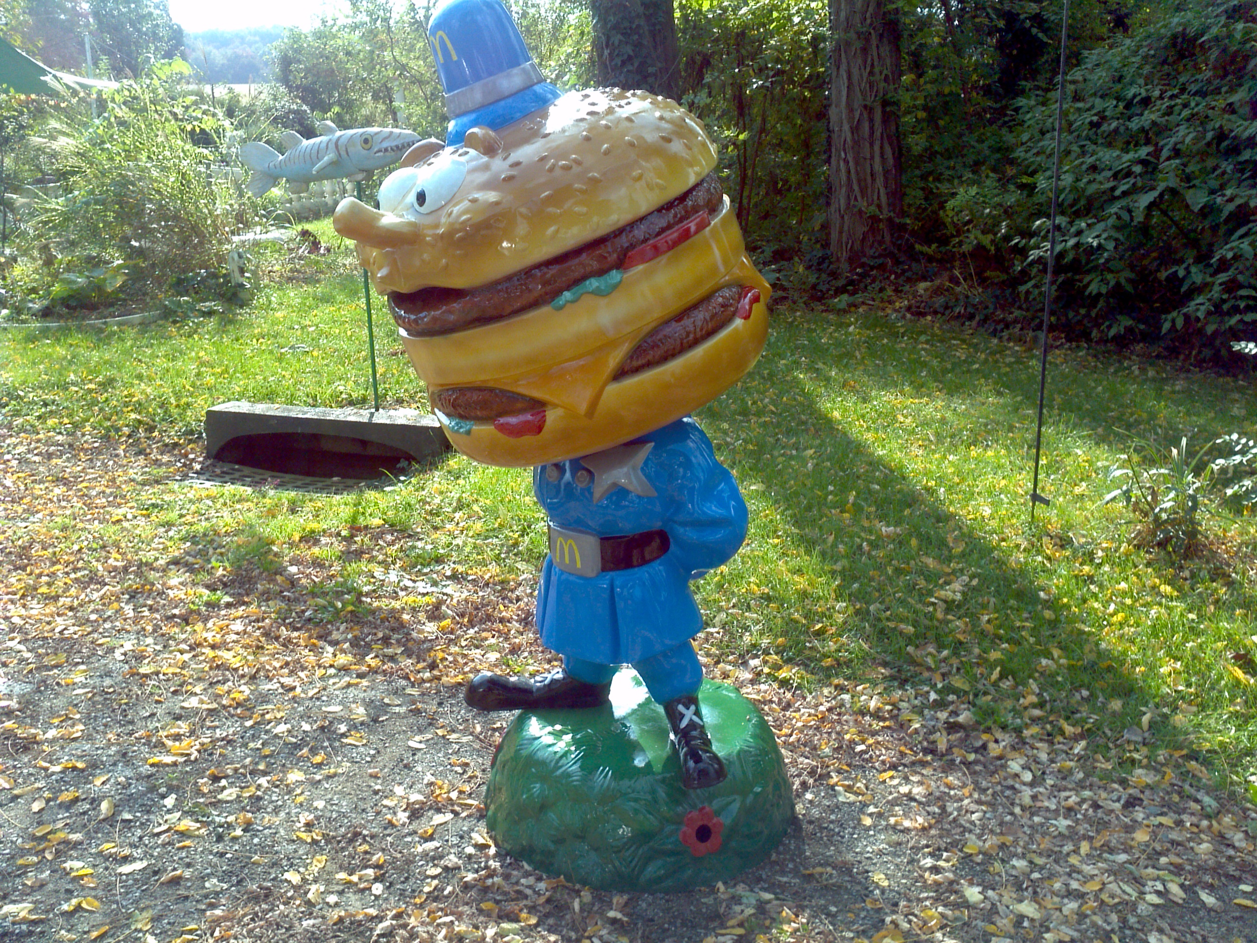 Restored Officer Big Mac Playland Statue Obnoxious Antiques