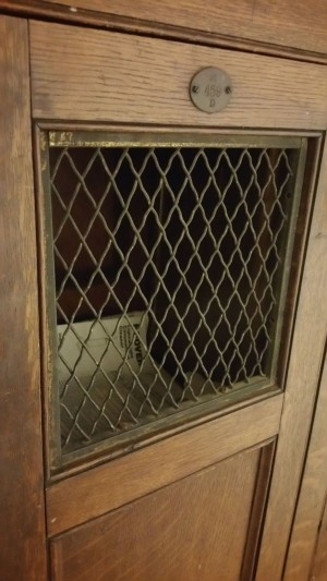 Locker Wood Antique 1