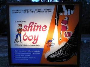 shoe shine machine 2
