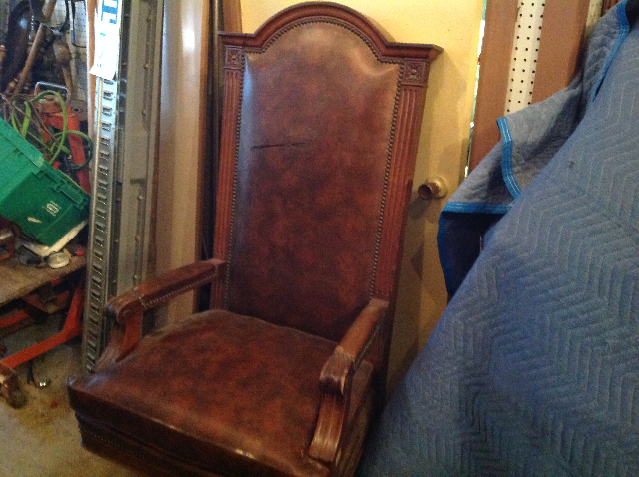 Vintage Marble Amp Shattuck Courtroom Judge S Chair