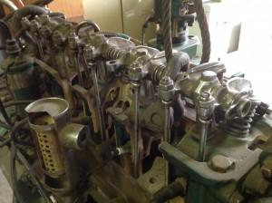chevey cut away motor 6