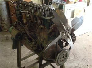 chevey cut away motor 7