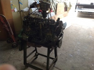 chevey cut away motor 8