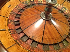 roulette wheel table 6