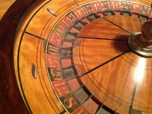 roulette wheel table 7
