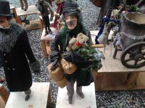 animated christmas high end  store display 2