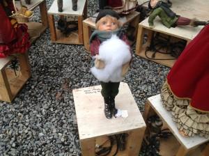 animated christmas high end  store display 5