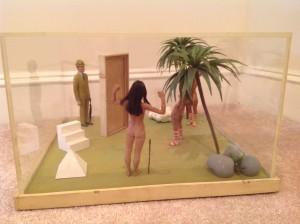 diorama surrealism assemeblage by artist J Grimmins 2