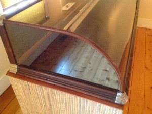 display case antique 8ft 10