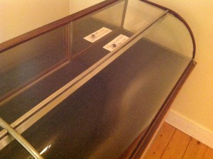 display case antique 8ft 9