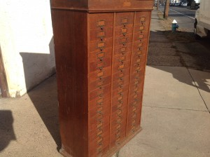 cabinet multi  drawer tall 13