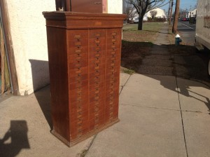 cabinet multi  drawer tall 9