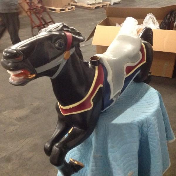 1920's Antique Allan Herschell Carousel Horse « Obnoxious